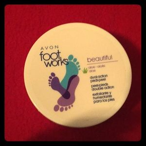 Avon foot works pedi peel
